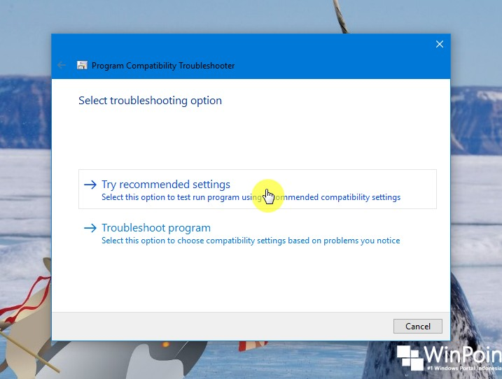 Cara Menjalankan Program Compatibility Troubleshooter di Windows 10 (5)