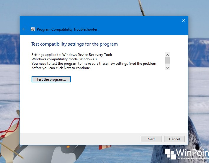 Cara Menjalankan Program Compatibility Troubleshooter di Windows 10 (6)