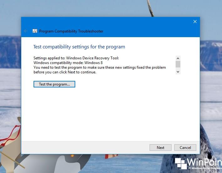 Cara Menjalankan Program Compatibility Troubleshooter di Windows 10 (6)