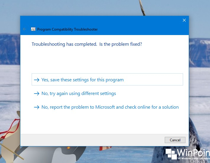 Cara Menjalankan Program Compatibility Troubleshooter di Windows 10 (9)