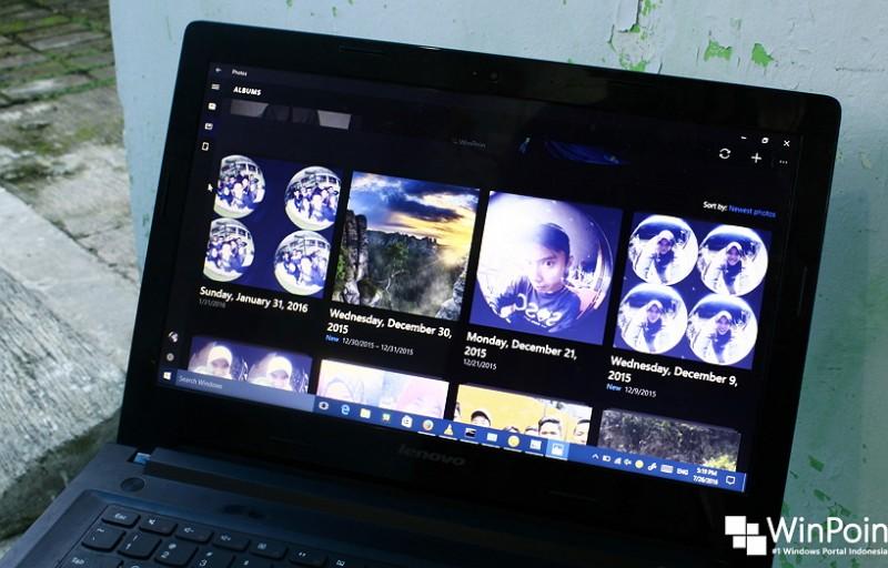 Daftar Shortcut pada Aplikasi Photos di Windows 10