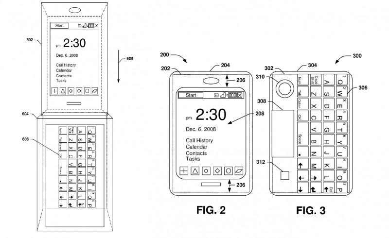 Keyboard Case Microsoft Patent