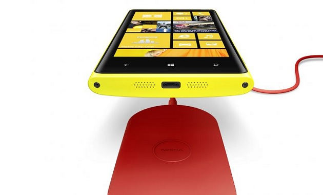 Lumia 920 Wireless Charging