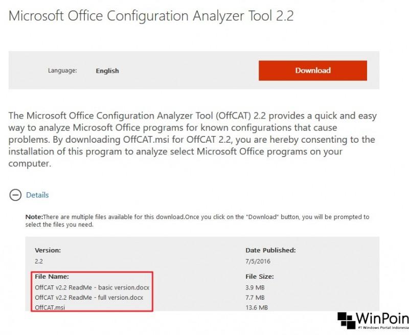 Office Configuration Analyzer Tool Troubleshooting Masalah Pada MS Office (1)
