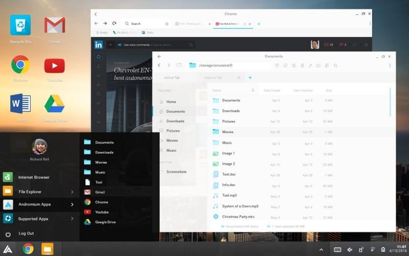 Andromium OS: Aplikasi yang Mengubah Smartphone Android Menjadi Desktop ala Continuum