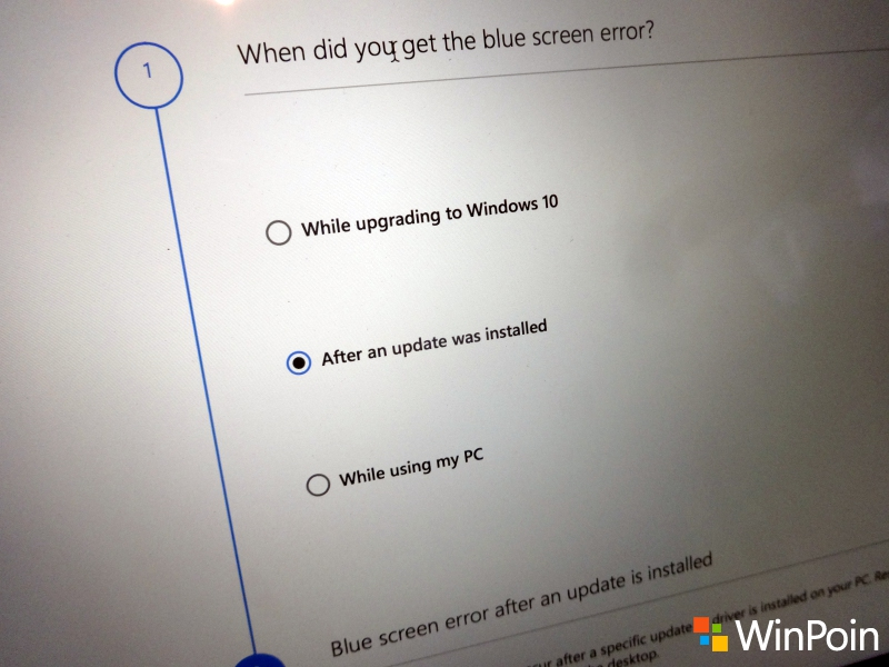 Mengatasi Blue Screen (BSOD) Windows dengan BSOD Troubleshooter