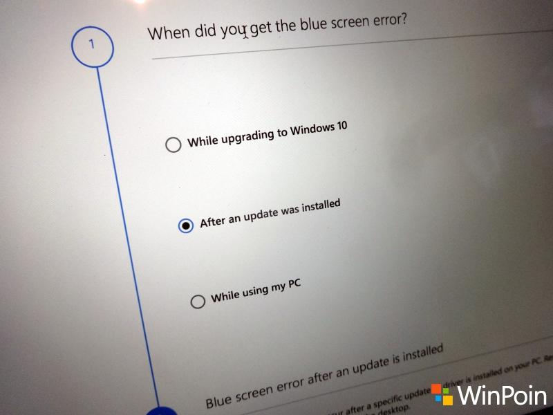 Mengatasi Blue Screen (BSOD) Windows dengan BSOD Troubleshooter
