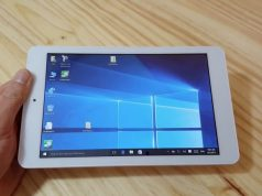 CUBE iWork8: Tablet Dual Boot Windows 10 + Android Seharga 1 Jutaan