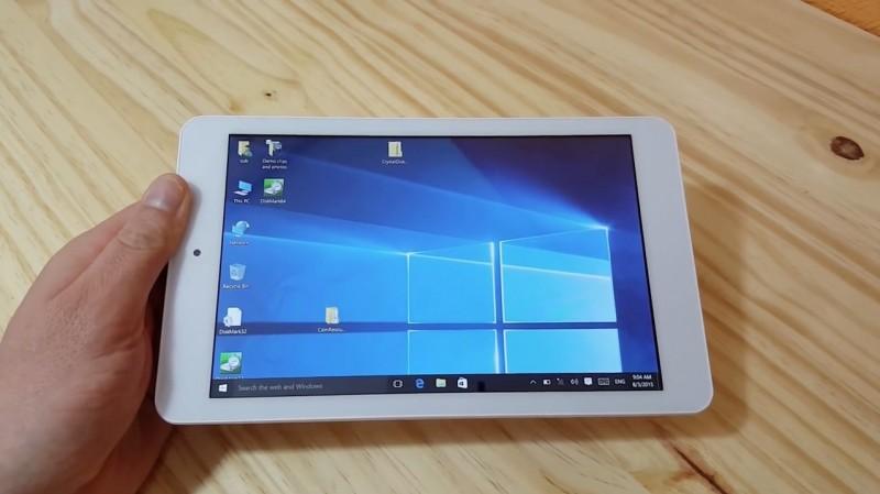 CUBE iWork8: Tablet Dual Boot Windows 10 + Android Seharga 1 Jutaan