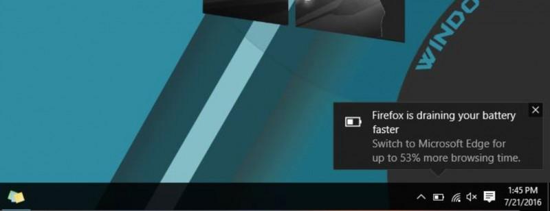 Tidak Hanya Chrome, Pengguna Firefox Juga Dapat Pesan Peringatan di Windows 10