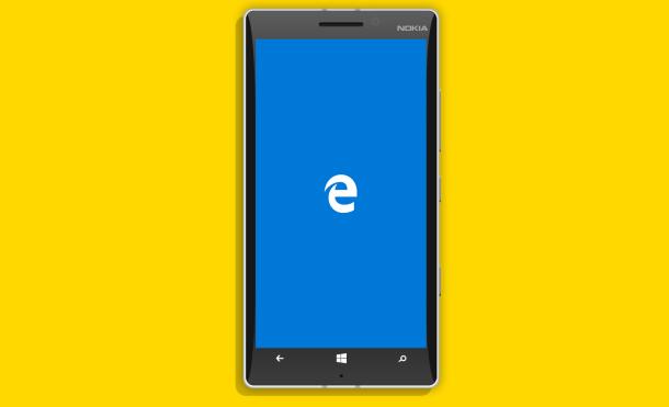 microsoft edge windows 10 mobile