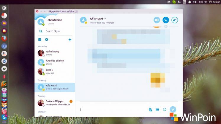 Review: Mencoba Skype Modern untuk Linux (Alpha)