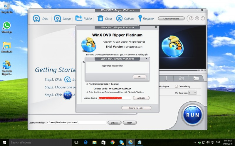 Download Software WinX DVD Ripper Platinum Senilai 525 Ribu, GRATIS!