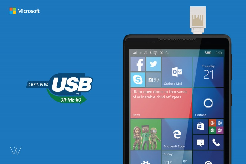 Inilah Microsoft Wise Pad W7: Phablet 4G LTE Windows 10 Mobile