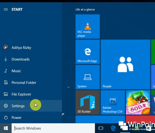 10 Cara Membuka Settings di Windows 10 (2)
