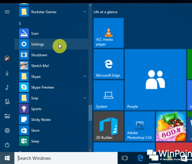 10 Cara Membuka Settings di Windows 10 (3)