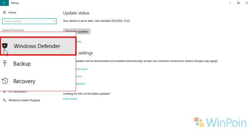 Cara Menggunakan Fitur Scan Offline di Windows Defender