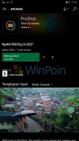 Cara Membeli Aplikasi dan Games di Windows 10 Mobile