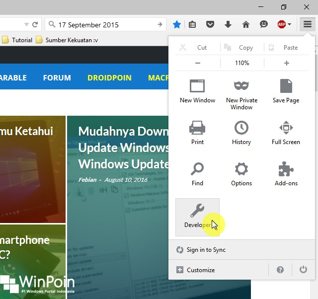 Cara Browsing di Mozilla Firefox tanpa Koneksi Internet (2)