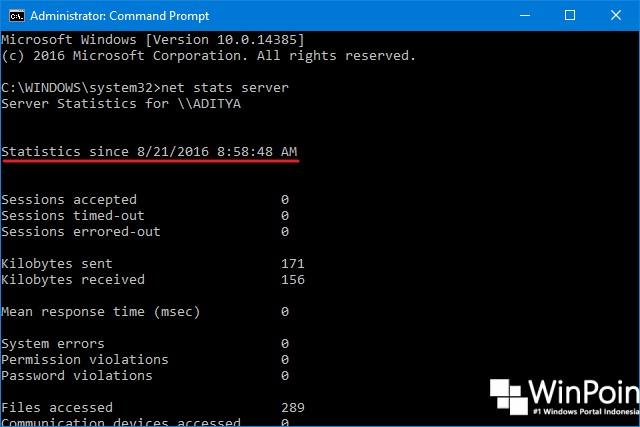 Cara Melihat System Uptime di Windows 10 (3)