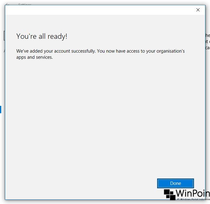 Cara Menambahkan Akun Organisasi di Windows 10 (6)