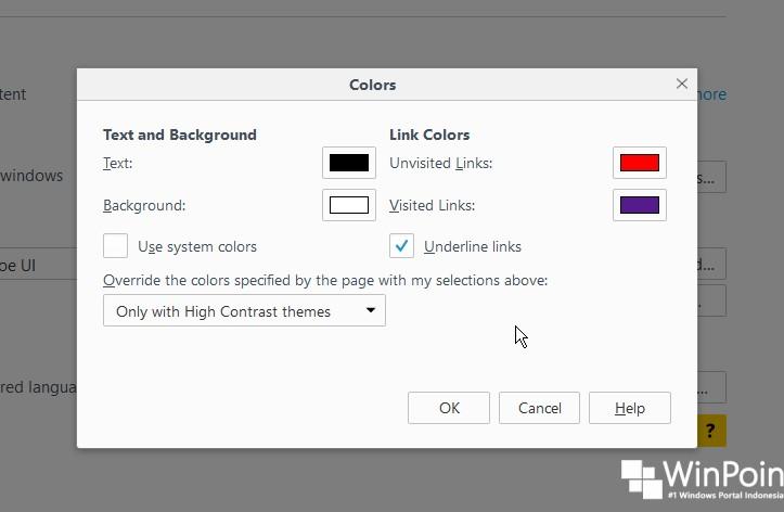 Cara Mengganti Jenis dan Ukuran Huruf di Mozilla Firefox (4)