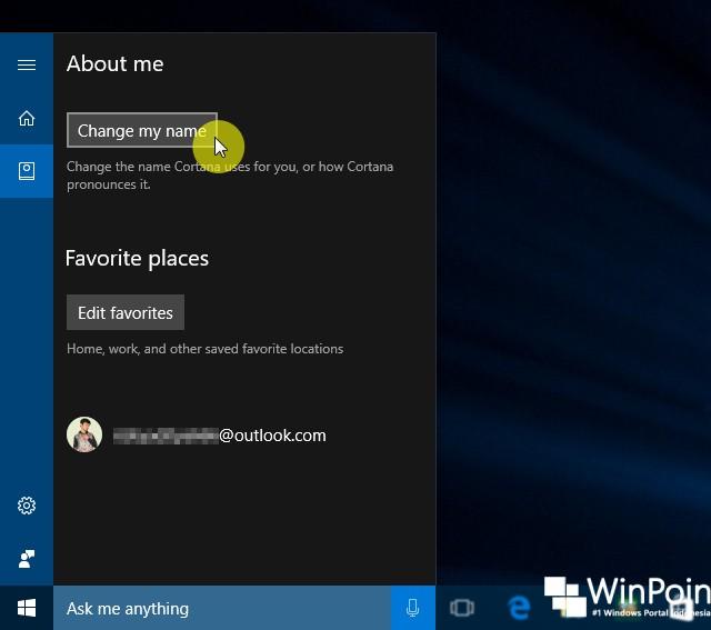 Cara Mengganti Nama Panggilan Kamu pada Cortana Windows 10 (2)