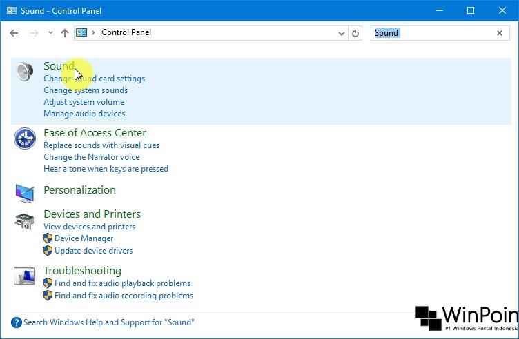 Cara Mengganti Suara Notifikasi di Windows 10 (2)