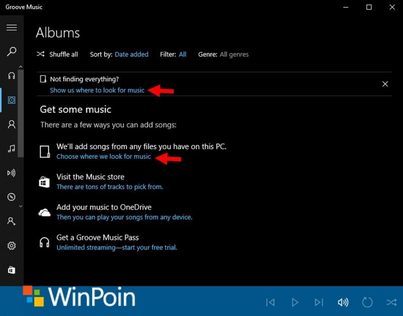 Choose folder-groove music