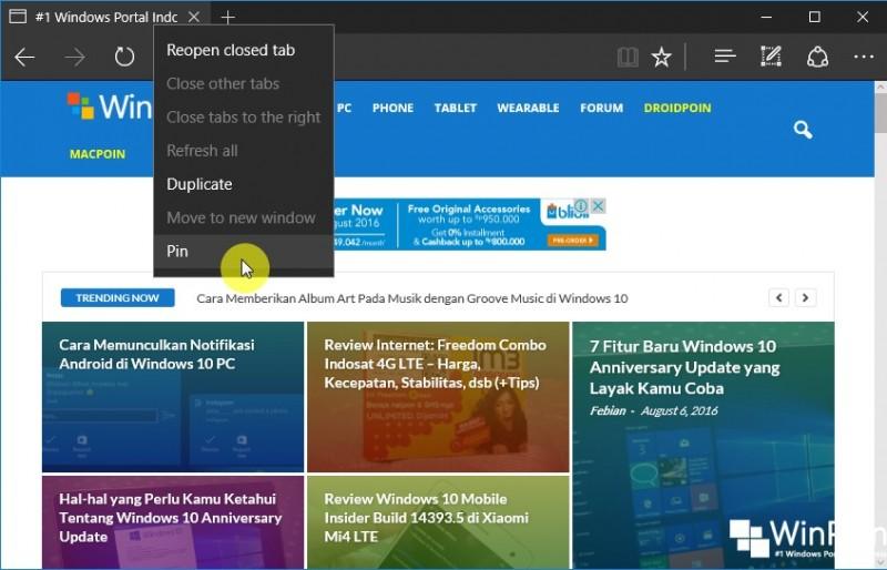 Fitur-fitur Baru pada Microsoft Edge di Windows 10 Anniversary UpdateFitur-fitur Baru pada Microsoft Edge di Windows 10 Anniversary Update (3)