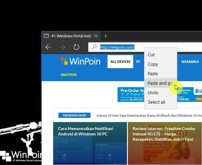 Fitur-fitur Baru pada Microsoft Edge di Windows 10 Anniversary UpdateFitur-fitur Baru pada Microsoft Edge di Windows 10 Anniversary Update (4)