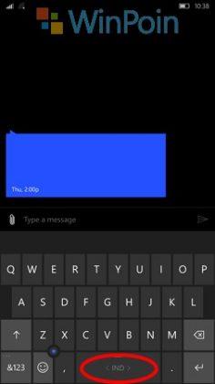 Cara Mengganti Bahasa Keyboard di Windows 10 Mobile