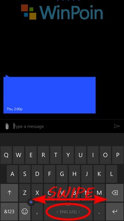 Cara Mengganti Bahasa Keyboard di Windows 10 Mobile