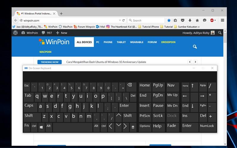 Inilah Daftar Lengkap Shortcut di Mozilla Firefox