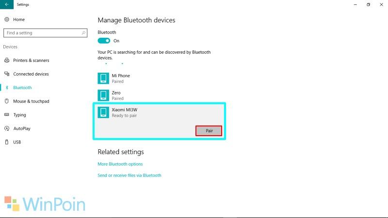 Cara Menyambungkan Bluetooth Ponsel dan Windows PC