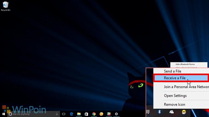 Cara Kirim File dari Ponsel ke Windows PC via Bluetooth
