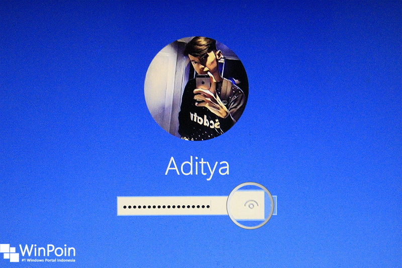 Trik Menghilangkan Password View pada Layar Login Windows 10 (1)