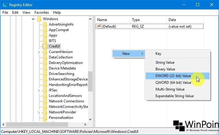 Trik Menghilangkan Password View pada Layar Login Windows 10 (2)