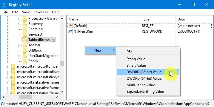Trik Menghilangkan Tab Preview di Microsoft Edge (1)
