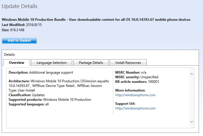 Windows 10 Mobile Build 14393.67 Akan Jadi Build Untuk Public Release?