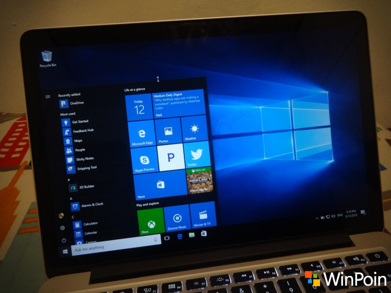 Windows 10 PC Build 14393.105 Dirilis ke Slow & Release Preview Ring