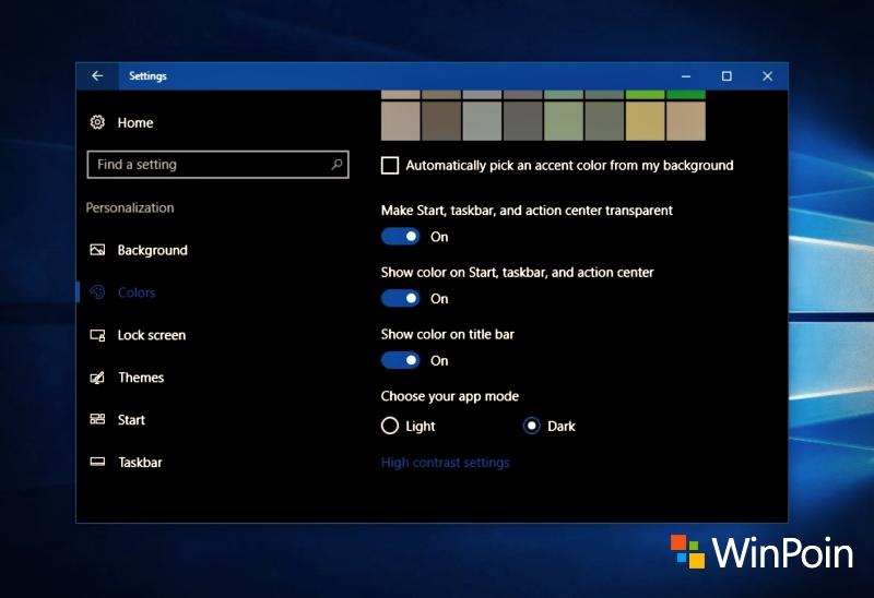 Ada satu fitur menarik di Windows 10 Anniversary Update buat kamu yang suka tema bernuansa gelap. Di update terbaru ini kamu bisa mengaktifkan Dark Theme di Windows 10.
