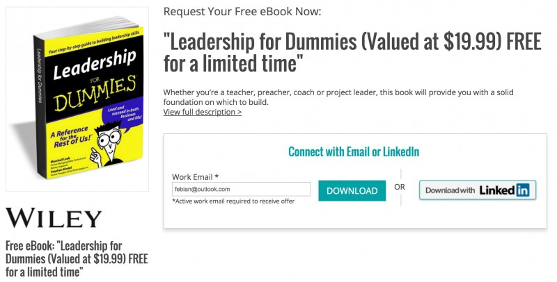 "Download Ebook: ""Leadership for Dummies"" Senilai 263 Ribu, Gratis!"
