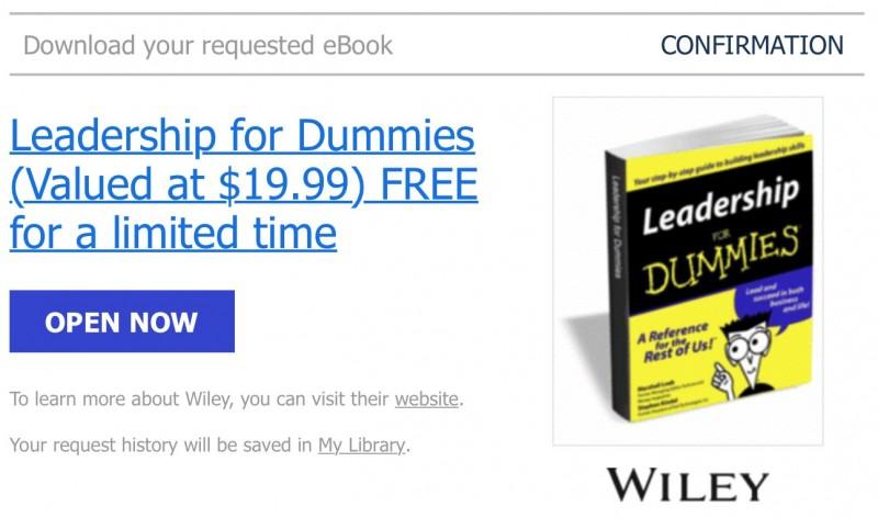 """Download Ebook: """"Leadership for Dummies"""" Senilai 263 Ribu, Gratis!"""