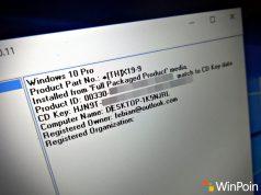 Cara Menemukan Product Key / Lisensi Windows dengan Mudah