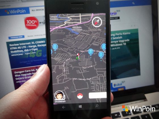 Cara Install Pokemon Go (Third Party) di Windows 10 Mobile