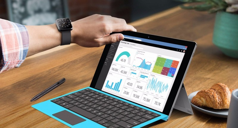 Tablet Dual Boot Windows 10 + Android yang Mirip Microsoft Surface