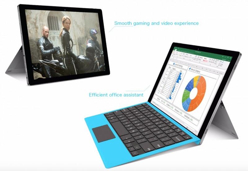 Tablet Dual Boot Windows 10 + Android yang Mirip Microsoft Surface