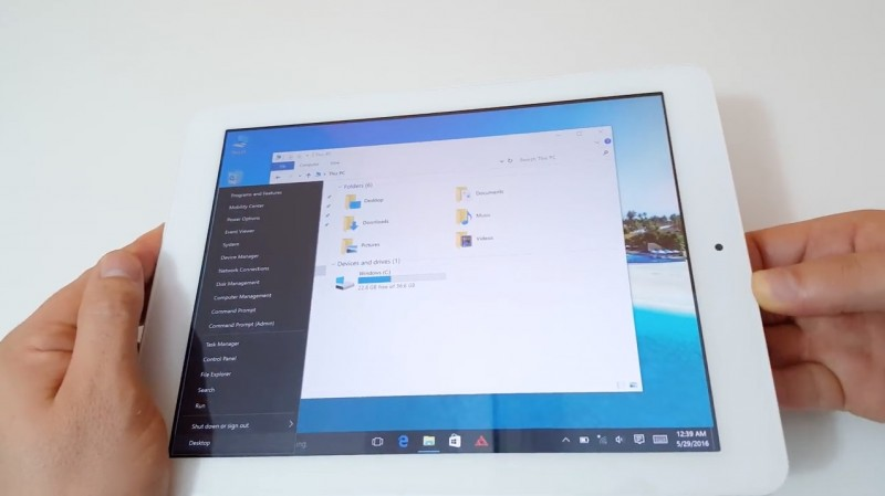 Teclast X98 Plus II: Tablet Dual Boot Windows 10 + Android