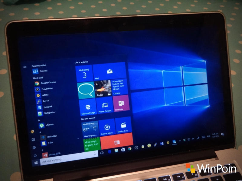Cara Upgrade ke Windows 10 Anniversary Update Menggunakan File ISO